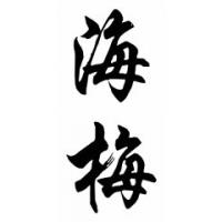 Jaime Chinese Calligraphy Name Painting