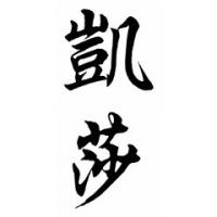 Keisha Chinese Calligraphy Name Painting